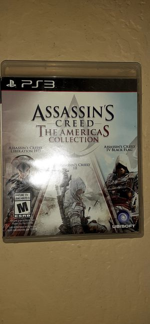 PS3 Assasins Creed Americas Collection for Sale in Buckeye, AZ