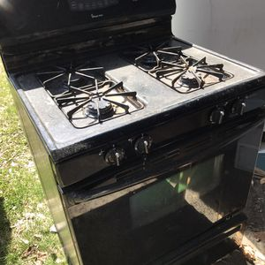 Regular size black natural gas stove Apt size gas stove 110 dollars each for Sale in Elmira, NY
