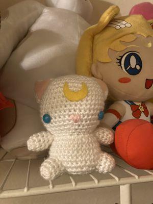 Sailor Moon Artemis Knit Plushy for Sale in Los Angeles, CA