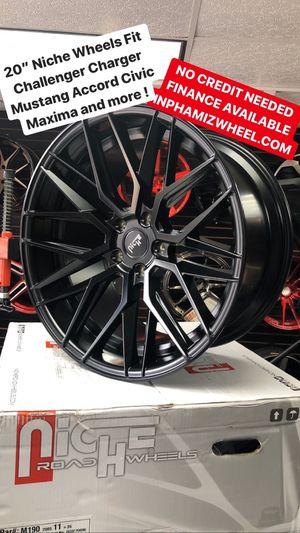 """20"""" niche wheels ( No Credit Check Finance Available Only $40 Down ) for Sale in The Bronx, NY"""