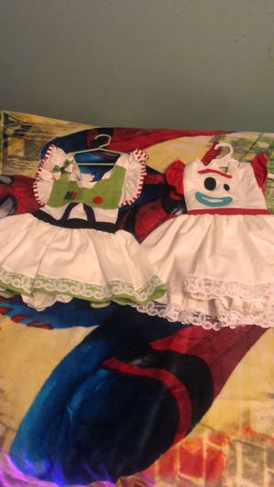 Buzz lightyear and forky dress/costume for Sale in Bluffdale, UT