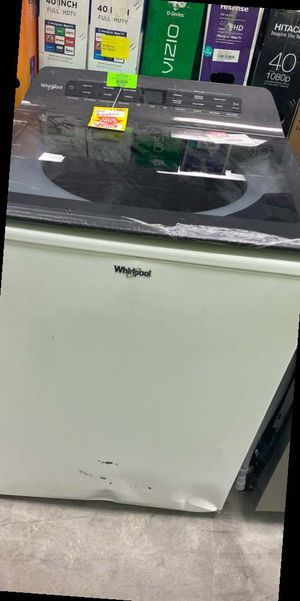 Whirlpool WTW5105HW washer 🤯🤯🤯 9NY for Sale in Humble, TX