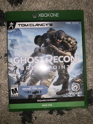 Xbox one ghost recon breakpoint for Sale in Westwego, LA