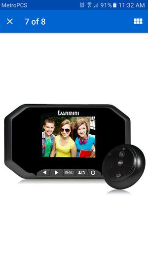 3 inch peephole video viewer with night vision for Sale in Lodi, CA
