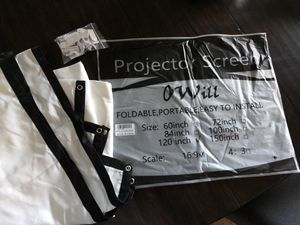 Projector Screen for Sale in Wake Forest, NC