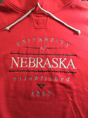 University of NEBRASKA Starter Hoodie Jacket Large vintage nice for Sale in Springfield, VA