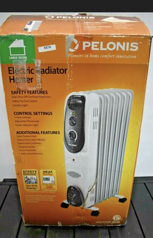 Pelonis electric radiator heater for Sale in Troy, MI