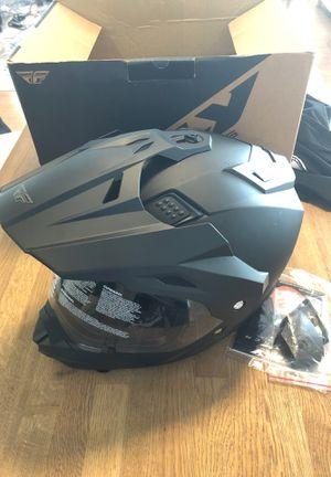 FLY Trekker size Medium helmet, NEW matte black Motorcycle Motorsports for Sale in Orlando, FL