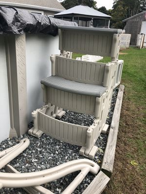 Brand New Pool Stairs never used for Sale in Billerica, MA