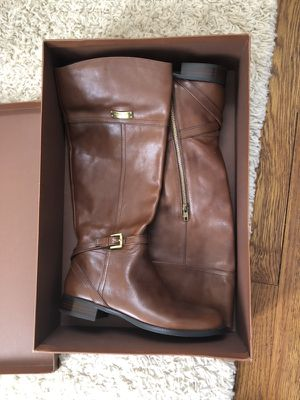 New micha calf coach boots size 9.5 for Sale in Bethesda, MD