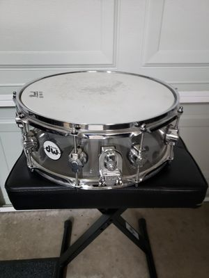 Dw Acrylic clear snare drum for Sale in Avondale, AZ