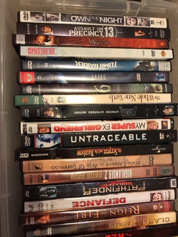 28 Misc. DVDs