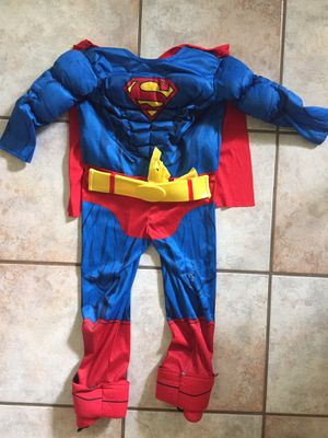 Youth Superman Costume Size 4-5 yrs for Sale in Gilbert, AZ
