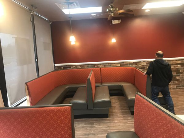 Restaurant booths 1400