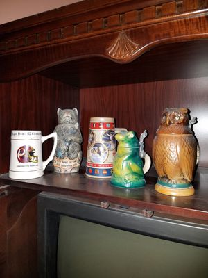 Beer steins and misc cups for Sale in Gaithersburg, MD