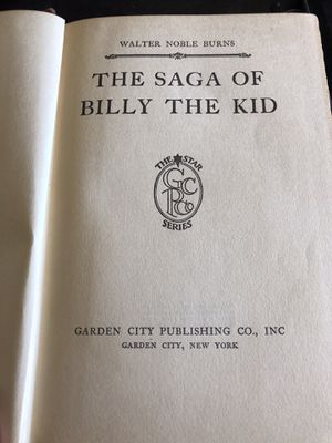 The Saga of Billy the Kid. for Sale in Apple Valley, CA