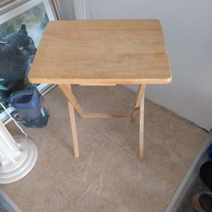 Wooden Folding Trau Table for Sale in Alexandria, VA