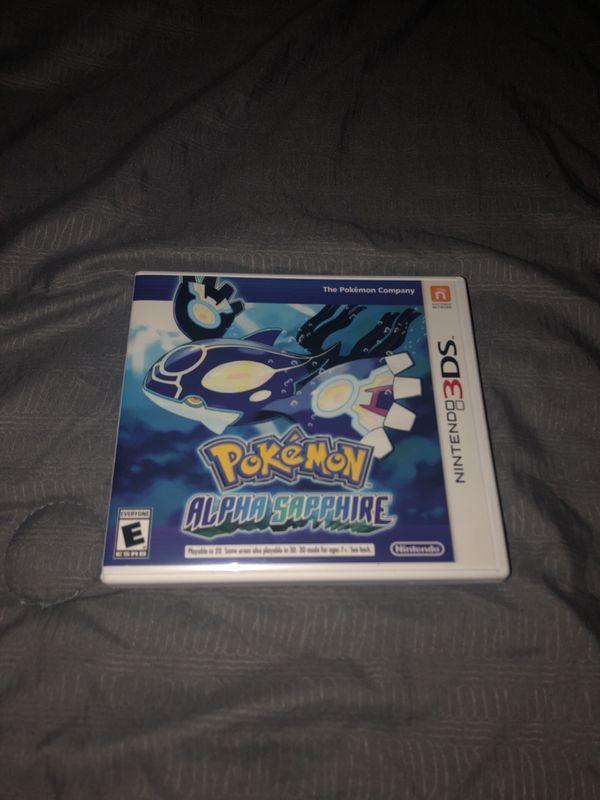 Pokémon Alpha Sapphire For Sale Or Trade