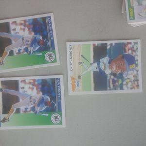 Ken Griffey Jr baseball cards for Sale in Petaluma, CA