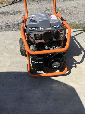 Rigid 8500 generator for Sale in Pittsburgh, PA