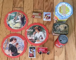 10 Vintage Coca Cola Memorabilia Collectible Items for Sale in Baldwin Park, CA