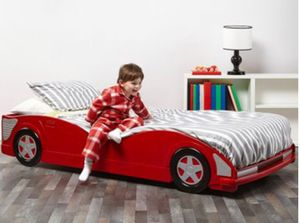 New Red Race Car twin Bed for Sale in Austin, TX
