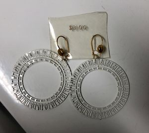 Vintage Unique Hoop Disk Earrings for Sale in Baltimore, MD