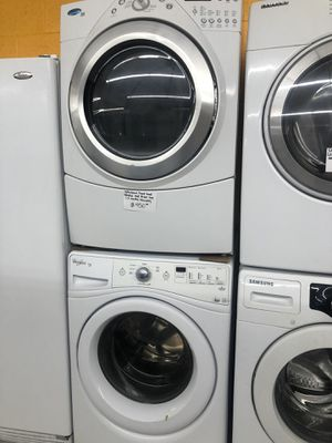 Whirlpool front load washer and dryer set in perfect condition for Sale in West Laurel, MD