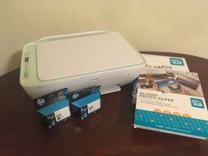 HP Deskjet 2636 Wireless Printer w/acces for Sale in Stow, MA