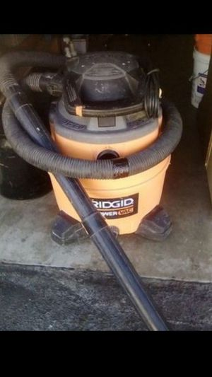 Ridgid 16gl 6.5 Peak HP Wet/Dry Vac/Blower for Sale in Costa Mesa, CA