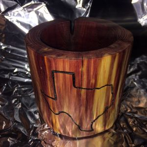 Natural Cedar Pencil Holder for Sale in Richardson, TX