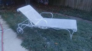 2 iron pool loungers for Sale in Galloway, OH