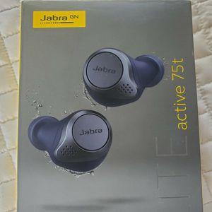 $130 JABRA GN ELITE 75T WIRELESS EARBUDS for Sale in Las Vegas, NV