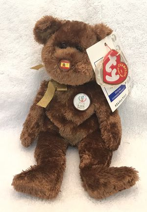 2002 FIFA ty beanie baby Spain 🇪🇸 soccer ⚽️ bear 🐻 for Sale in Roswell, GA