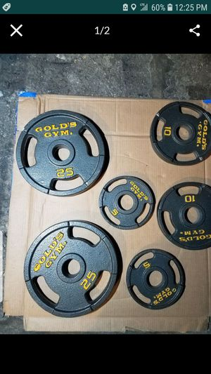 OLYMPIC PLATES. 80LBs for Sale in Chicago, IL