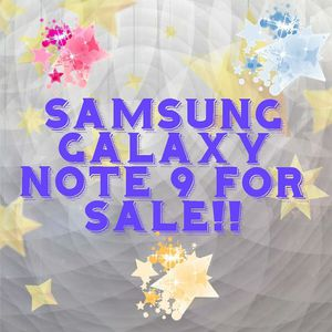 Samsung Galaxy Note 9 for Sale in Baltimore, MD