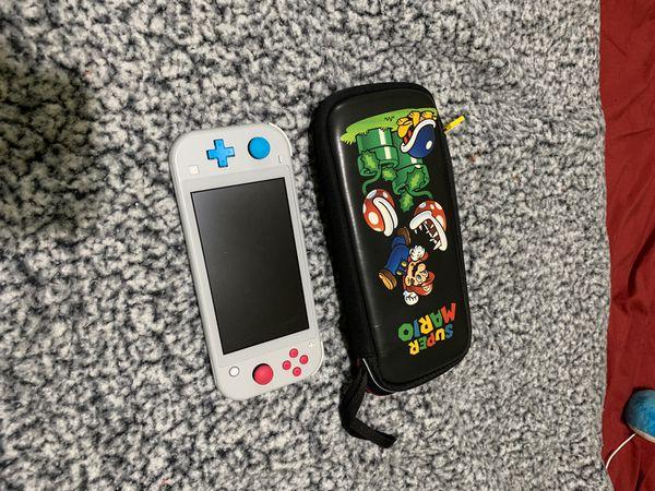 Nintendo Switch Lite POKÉMON Zacian and Zamazenta Edition