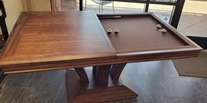 DARAFEEV TREVISO RECTANGULAR BUMPER POOL TABLE W/ 2 PIECE DINING TOP for Sale in Chandler, AZ