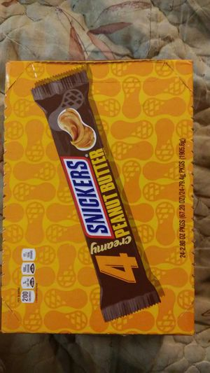 24 king size penut butter snickers for Sale in Lakeland, FL