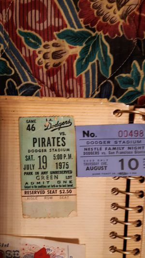 Dodger ticket stubs for Sale in Wauchula, FL