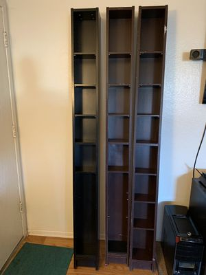 IKEA DVD Shelves (3 available) asking $25 each for Sale in Hemet, CA