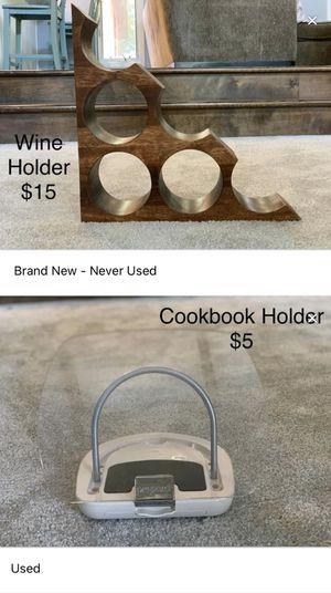 Blender, Grilling Utensils, Wine Holder, Cookbook Holder for Sale in Darien, IL