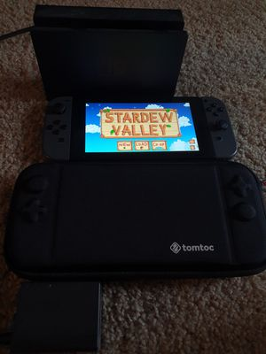 Nintendo Switch with case and dock for Sale in Burien, WA
