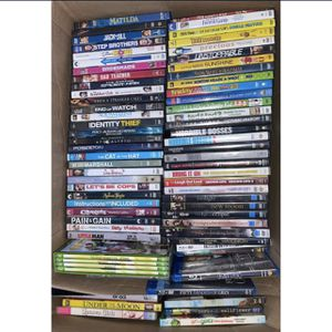Box of DVD's & BluRays - pick some or buy all! for Sale in Coronado, CA