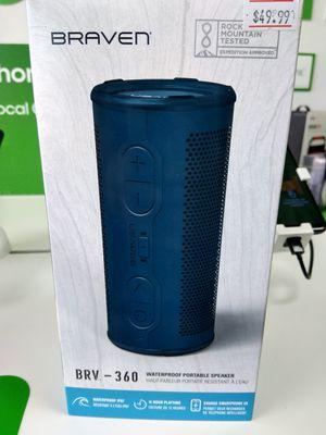 Braven 360 Waterproof Bluetooth Speaker for Sale in Wichita Falls, TX