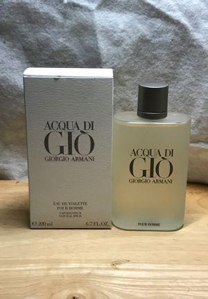 GIORGIO ARMANI GIO 6.7 oz 200 ml for Sale in Roff, OK