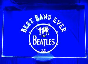 """The Beatles 3D engraved LED neon Light Sign 12""""x8"""" for Sale in Akron, OH"""