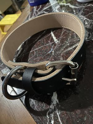Leather dog collar large handmade usa for Sale in Norcross, GA