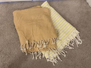Yellow Throw Blankets for Sale in Everett, WA