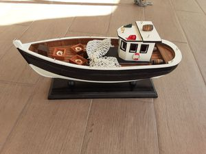 Decorative Nautical Decor Model Fishing boat for Sale in Alhambra, CA
